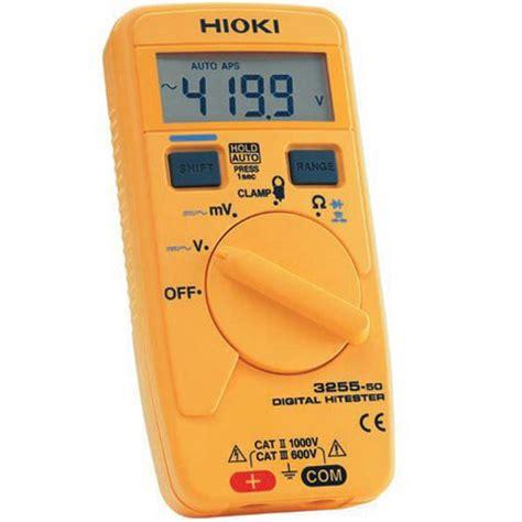 Multimeter Digital Surabaya hioki 3255 50 digital multimeter meter digital