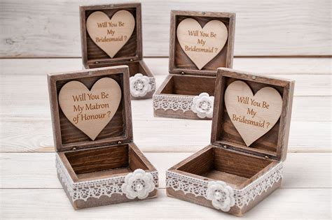 Handmade Bridesmaid Gifts - 30 and creative ways to ask quot will you be my bridesmaid