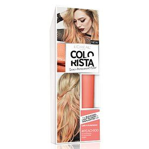 loreal semi permanent hair color colorista semi permanent hair color for brunettes l