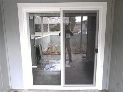 Patio Door Trim Sliding Patio Door And Exterior Trim Installation Yelp