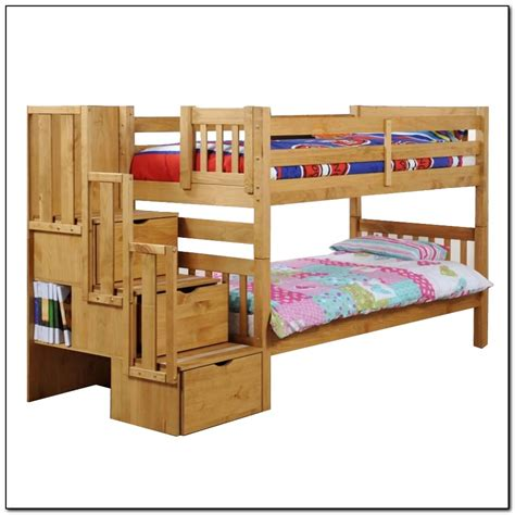 staircase for bunk bed staircase bunk bed plans beds home design ideas