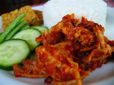 blogger resep masakan resep masakan ayam suwir pedas xirina online blog