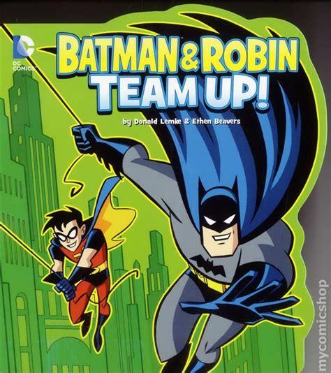 Kaos Batman And Robin On Team batman and robin team up hc 2013 dc comics board book comic books