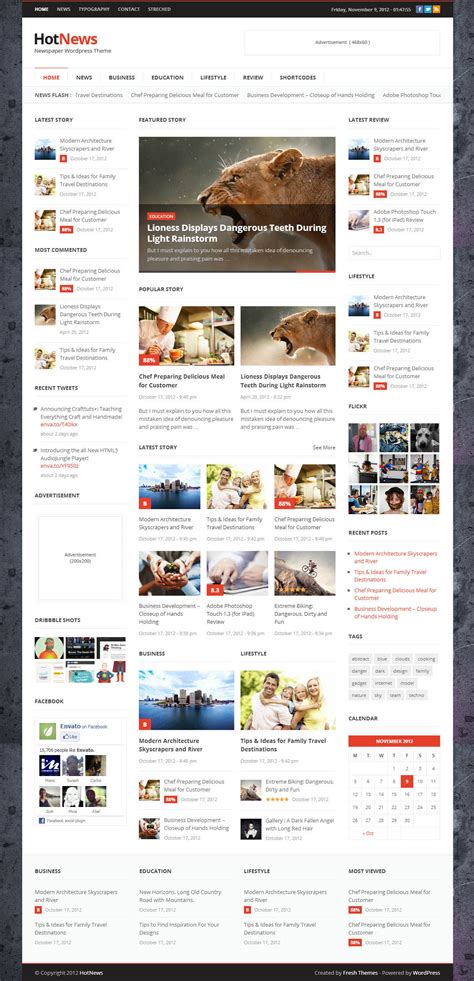best responsive wordpress themes wordpress themes