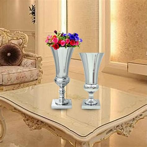 buy wholesale silver vases for wedding centerpieces