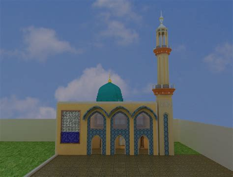 design masjid king2011 جیوے جیوے پاکستان mosque and school design 3d