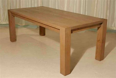 Hand Crafted Reclaimed Wood Roca Dining Table In A Natural Custom Wood Dining Tables