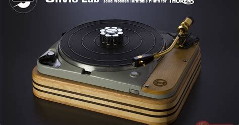300000 Luxury Ythink Turntable The Reference Ii by Mono And Stereo High End Audio Magazine Silvio Lab Solid