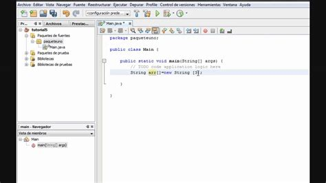 tutorial java using netbeans tutorial 5 parte 1 2 java netbeans www inquisidores net