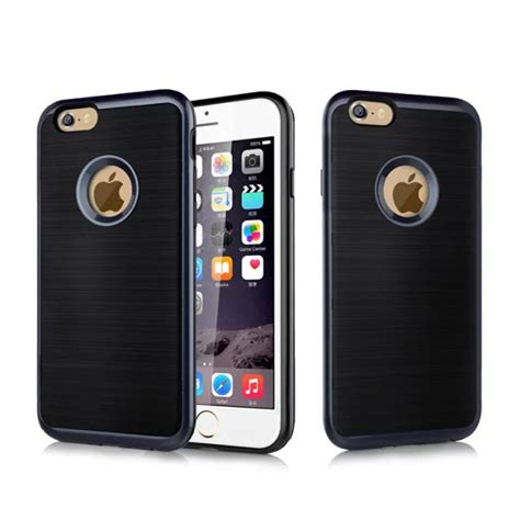 new luxury korea style motomo for iphone 6 4 7 inch brushed aluminum pc metal for
