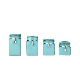 blue kitchen canister sets decorating clear blue kitchen canister sets