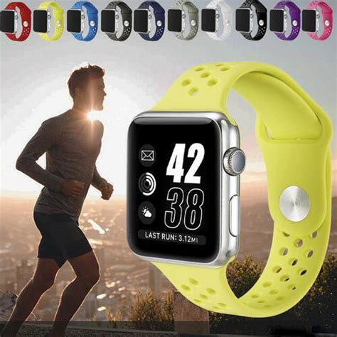 Sport Silicone Band Nike Series For Apple 42mm Nike Series New 3 yifalian for nike sport silicone band for apple 42mm 38mm bracelet wrist band