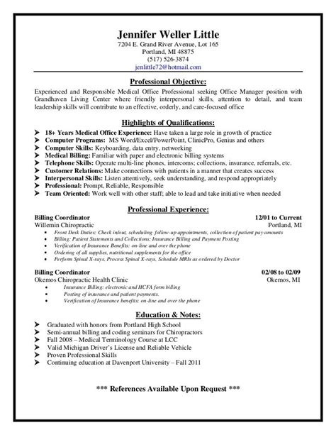 resume templates medical coder resume example language skills