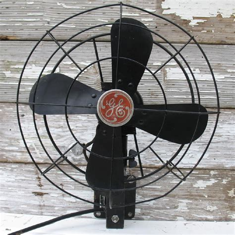 vintage wall mount fans vintage ge fan wall mounted black