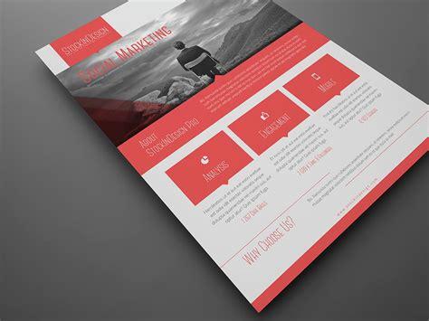 design flyer adobe free corporate flyer