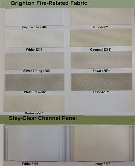 Bali Solar Blinds Vertical Blinds Color Chart Commercial Drapes And Blinds