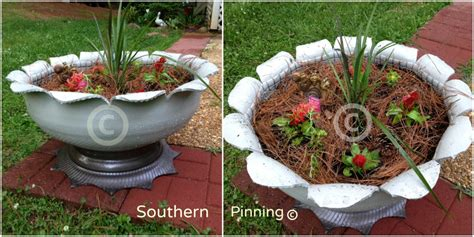 Southern Planters by Recycled Tire Planter Project Southern Pinning
