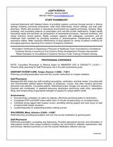 resume template for pharmacist best resume exles of pharmacist vacancy vntask