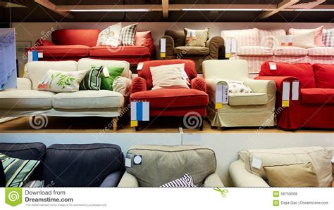 Sofa Store Sale by Furniture Store Shop Stock Photo Image 58759008