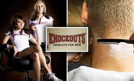 knockouts haircuts groupon half off at knockouts haircuts for men knockouts