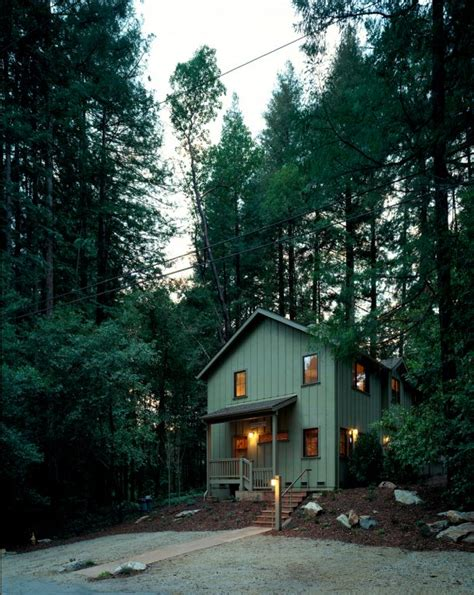 Mayfield Lake Cabin Rentals by Mayfield Architects 187 Redwood Cabin Mount Hermon