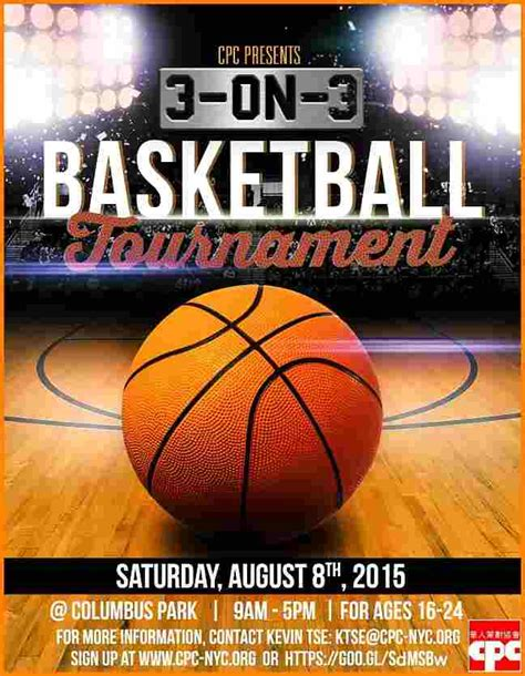 basketball flyer exle unique basketball tournament flyer template elaboration