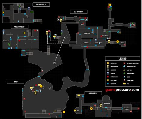 download layout bin for resident evil 4 old house yard and greenhouse map m2 secrets and maps