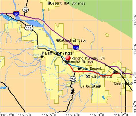 california map rancho mirage rancho mirage california ca 92270 profile population