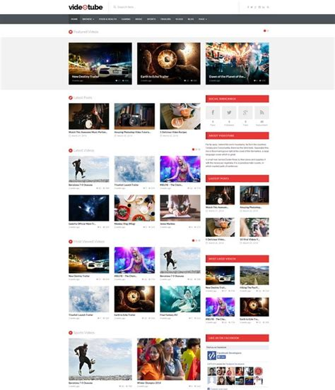21 responsive wordpress video themes for gags movie db