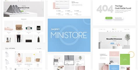 shopify multiple themes ministore multiple shopify theme by juno themes themeforest