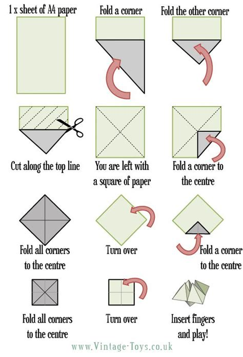 How Do You Make Paper Fingers - best 25 paper fortune teller ideas on
