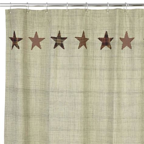 Country Bath Shower Curtain Country Shower Curtains Abilene Star 72 Quot X 72 Quot