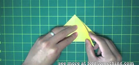 Easy Origami Water Bomb - how to fold a simple origami from a water bomb base