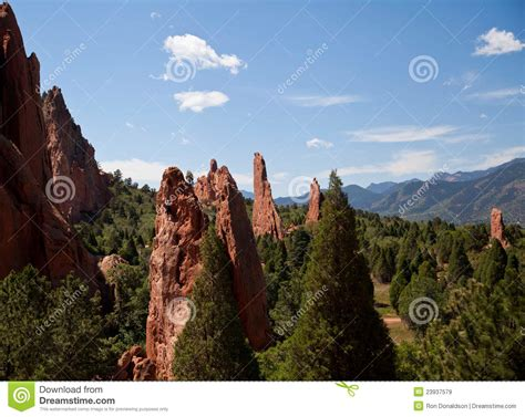 Rock Climbing Garden Of The Gods Rock Climbing In Garden Of The Gods Park Royalty Free Stock Images Image 23937579