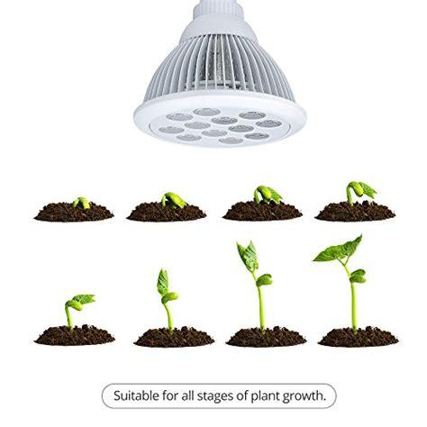 led plant light bulbs victsing 12 led indoor garden plant grow light bulb 36w