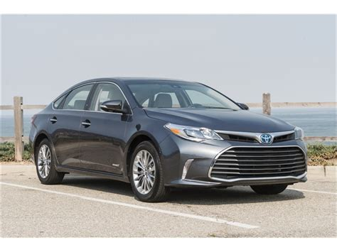 Toyota Avalon Hybrid 2017 Toyota Avalon Hybrid Prices Reviews And Pictures U