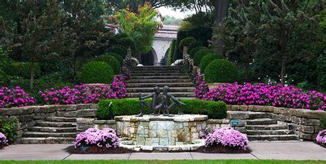 The Sunken Gardens by Mccasland Sunken Garden Dallas Arboretum