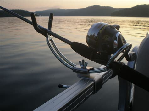 pontoon rod holders pontoon boat adjustable fishing rod holders gifts by kaz