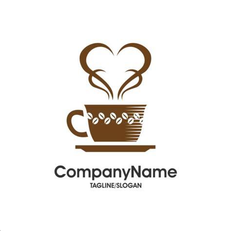 cafe design font creative coffee and cafe logos design vector 14 vector