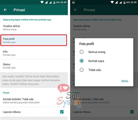 wallpaper whatsapp tidak bisa diganti foto profil whatsapp tidak muncul
