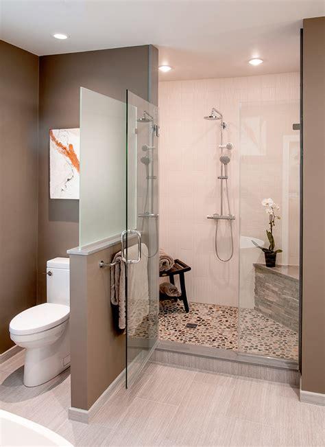 transitional bathrooms designs remodeling htrenovations - Transitional Bathrooms