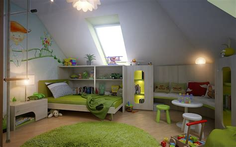 garret room attic spaces