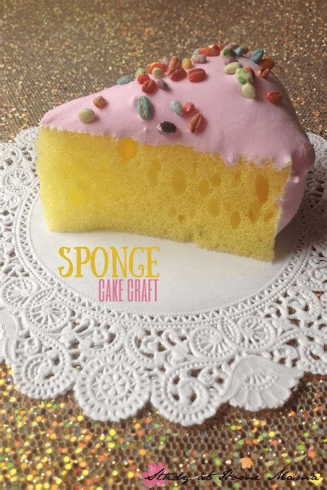 craft cake craft ideas sponge cake craft