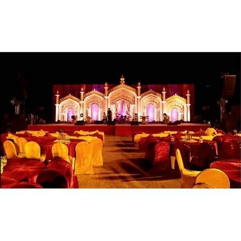 Stage Decoration   Temple Theme Stage Decoration Services