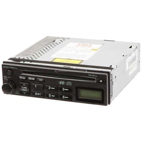 hyundai dvd player format hyundai elantra radio or cd player from carpartswarehouse