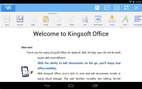 kingsoft office pro apk apk android apps