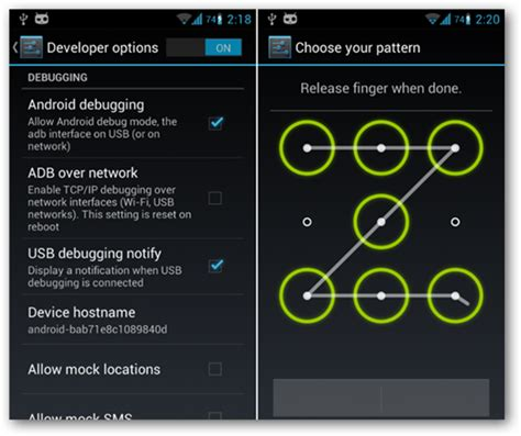pattern lock android break how to break the pattern lock on your locked android phone