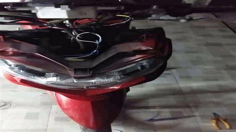 Lu Led Motor Soul Gt cara pasang dan isntalasi sendiri lu led motor yamaha
