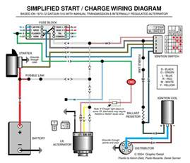 automotive alternator wiring diagram boat electronics cars car repair and engine