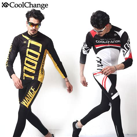 Sportwear Set 2017 coolchange cycling clothing set sleeve bike jersey set mountain sportswear bicycle
